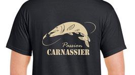 T-shirt pêcheur passion carnassier