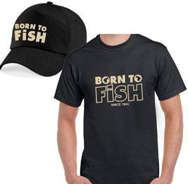 BOITE cadeau pêcheur born to fish