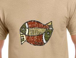 T-shirt drôle de poissons Africain