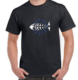T-shirt pêche au poisson du pacific