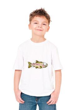 Teeshirt jeune pêcheur de poisson