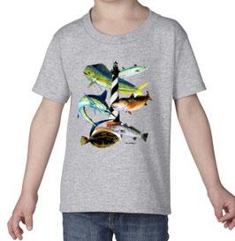 T-shirt jeune pêcheur en Bretagne