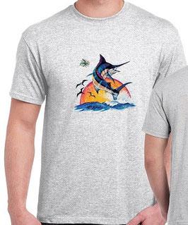 T-shirt pêcheur de marlin