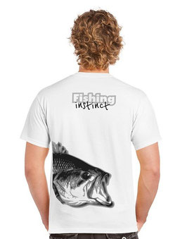 Tee-shirt pêche fishing instinct