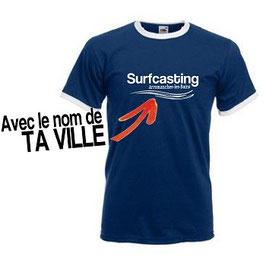 t-shirt pêche surfcasting