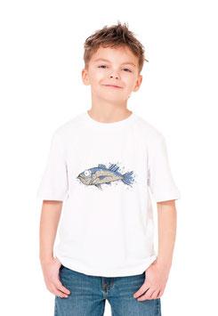 Teeshirt garçon pêcheur de poisson