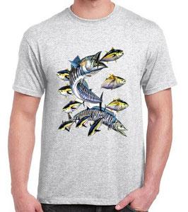 Tshirt pêche au wahoo