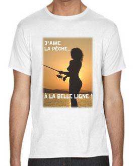 T-shirt sexy pour un pêcheur
