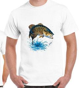 T-shirt pêche achigan