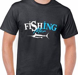 T-shirt peche en mer