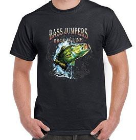 Tee-shirt pêcheur bass jumper