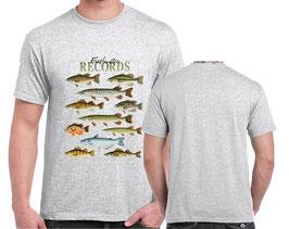 tshirt pêche de poisson record lac