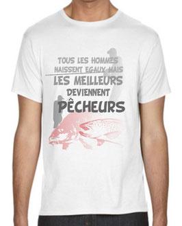 T-shirt les meilleurs pêcheurs