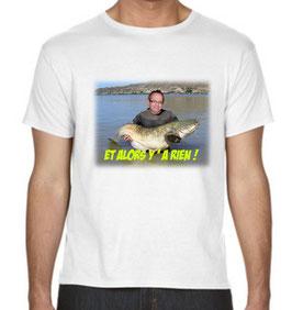 t-shirt personnalisé avec trucage SILURE