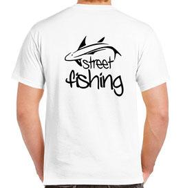 tee-shirt pecheur street fishing cuillere