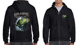 Veste sweat pêcheur de gros bass