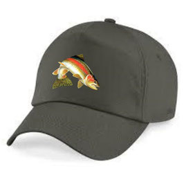 casquette truite sauvage zébrée
