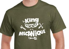 T-shirt homme mécanicien