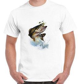 t-shirt perche au spinnerbait