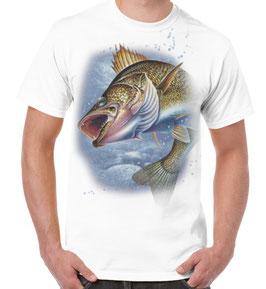 Tee-shirt imprimé de gros poisson