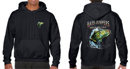 Sweat capuche pêcheur de bass