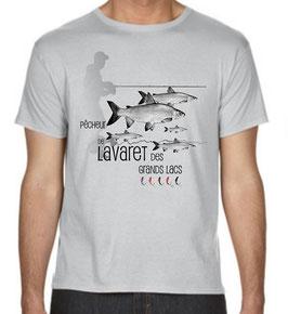 Tee-shirt pêcheur de lavaret