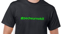 tee-shirt hashtag pecheur no kill