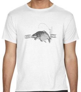 Tee-shirt pour le carpiste