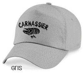 Casquette pêche carnassier