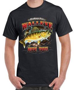Tee-shirts pêcheur carnassier USA