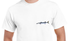 tee-shirt pêche au barracuda