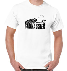 tshirt passion carnassier