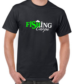 T-shirt pêche carpe