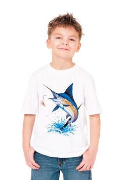 Tee-shirt garçon pêcheur de gros espadon