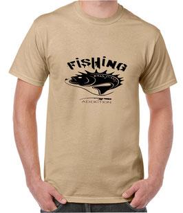 Teeshirt fishing addcition