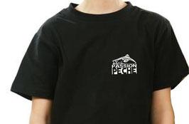 T-shirt garçon passion pêche