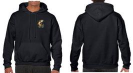 Sweat-shirt avec la truite fario