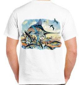 T-shirt pêche au gros en Méditerranée