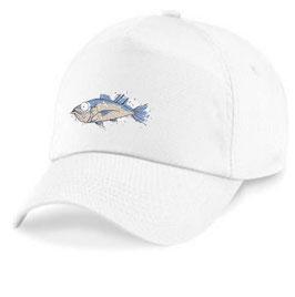 Casquette drole de poisson