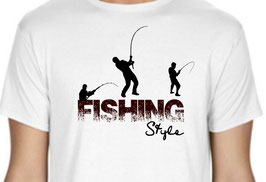 T-shirt fishing style
