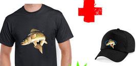 Promo teeshirt et casquette sandre