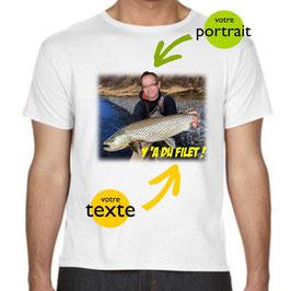 t-shirt personnalisé avec trucage
