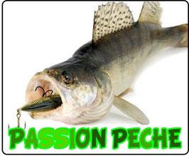 Tapis de souris pêcheur de sandre