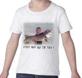 t-shirt personnalisé jeune pecheur