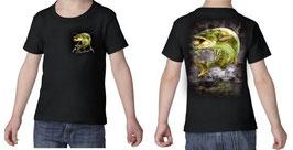 T-shirt garçon pêcheur de gros broc