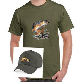 Boite cadeau pêcheur de truite fario