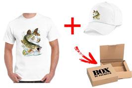 Boite cadeau pêcheur de brochet