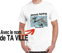 t-shirt street fishing et le plan pêche