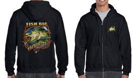 Veste sweat pêcheur de big fish