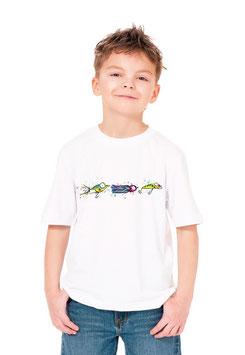T-shirt jeune pêcheur et les leurres